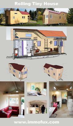 Mobiles Minihaus   Rolling Tiny House , Informationen Und Angebote Ein  U201eRolling Tiny Houseu201c Ist Ein Kleines Haus Auf Rädern. Diese Mobilen Minihäu2026
