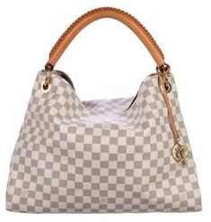 4dcd3ef0d8a4 Louis Vuitton Damier Azur Artsy MM  bag  hand bag  stylish  Satchel   shopstyle