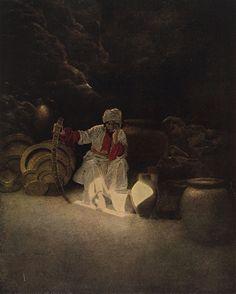 Maxfield Parrish, The Arabian Nights, 1909.