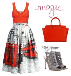 """Magic"" by suncokret-12 ❤ liked on Polyvore featuring Torn by Ronny Kobo, Chicwish and Gianvito Rossi"