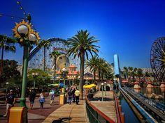 Paradise Pier, California