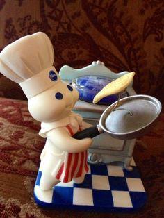 "Pillsbury Doughboy Figurine ""Breakfast's Ready"""