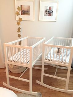 Transforming Your Master Bedroom To Include A Nursery Space Beautiful Twin Bassinets