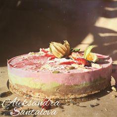 RAW  Strawberry CAKE  #cake #raw #vegan #tort #natural