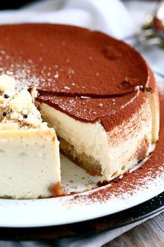 Suussasulava tiramisujuustokakku uunissa - Suklaapossu Tiramisu, Cheesecakes, Holidays And Events, Food And Drink, Ethnic Recipes, Desserts, Tailgate Desserts, Deserts, Cheesecake