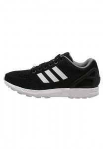 Discounted Adidas Originals Zx Flux Mens Trainer Core Black White clearance amp outlet