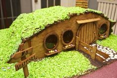 It is a gingerbread hobbit-hole, and that means comfort.