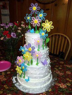 Lovely Spring Cake idea!