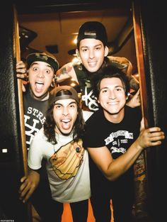 So so so excited to see/meet Pierce The Veil tomorrow! Their music has had the most beautiful impact on my life and I cannot wait to tell them.