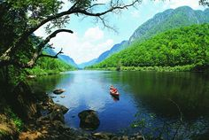 Quebec: Parc national de la Jacques-  Cartier