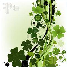 Irish clover art.... :)