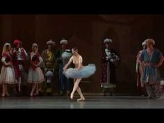 Le Corsaire = FAVORITE BALLET!!  Gillian Murphy is in the center of this trio. Seriously...she's amazing!