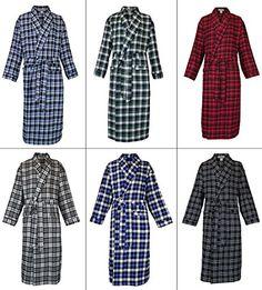 9665894312 Robes King Classical Sleepwear Men s 100% Cotton Flannel Shawl Collar Robe