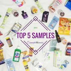 Here were our Top 5 Samples of 2015! Look forward to more awesome free samples this year  http://trib.al/RcEm2AU