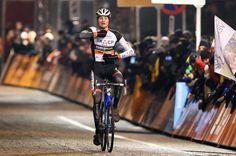 Mathieu van der Poel takes the win at Diegem