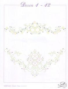 Gallery.ru / Фото #72 - Рисунки для вышивки гладью, лентами и ришелье-3 - Vladikana