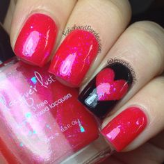 "Lacquer Lust ""Red Light Special"" http://www.polishandpandas.com/2014/02/lacquer-lust-swatches-review.html#more"