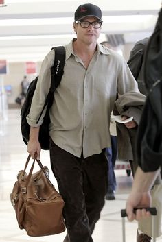 Brian Van Holt Photos: Brian Van Holt at LAX