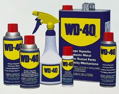 WD-40 IDEAS and TIPS