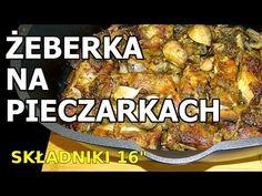Żeberka na pieczarkach - YouTube Pork, Beef, Chicken, Youtube, Kale Stir Fry, Meat, Pork Chops, Youtubers, Youtube Movies