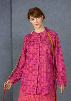 Blouses 6 tunics – GUDRUN SJÖDÉN – Webshop, mail order and boutiques | Colorful clothes and home textiles in natural materials.