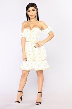 043431cb99d972 Lacey Lou Crochet Dress - White  crochetdressesbeautiful Edgy Chic