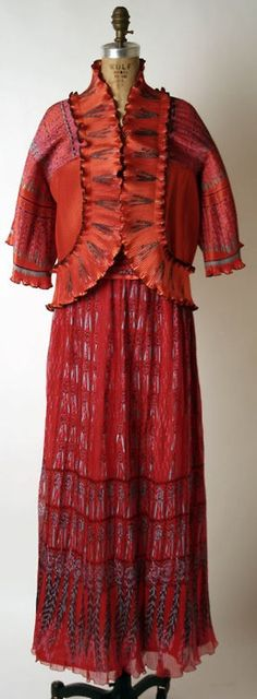 Zandra Rhodes c. 1973 - the Met