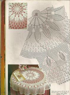 Мобильный LiveInternet Muestras y Motivos Especial Panos 1 Crochet Patterns Filet, Crochet Tablecloth Pattern, Crochet Doily Diagram, Crochet Bedspread, Crochet Mandala, Crochet Motif, Crochet Circles, Crochet Round, Crochet Home