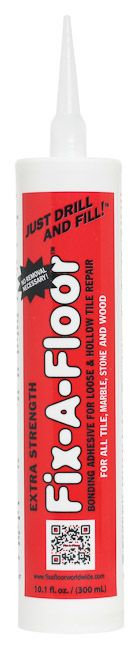 10.1 oz. Tube great for narrow or no grout lines in marble or wood floors