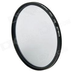 Emolux 77mm CPL Circular Polarized Lens Filter - Black