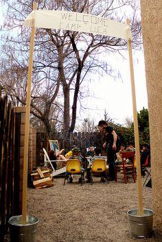 luca's backyard campout by annalea hart, via Flickr