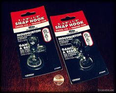 https://flic.kr/p/sxjyLS   Trigger snap hooks   A couple of trigger snap hooks came in today's mail.  I've used/cannabalized the same type before from old metal wallet chains to use with paracord projects, and they work out well enough, being especially nice to one-hand clip on/off a belt loop, compared with some other types of clips that can be fiddly to manage.   These have a 40lb safe work load rating, which is a percentage of a higher (unknown in this model, not mentioned on the package) actual break limit, but these work out fine for keychain or wallet lanyard use.    I've used them for paracord dog leashes for smaller pets, up to 20 -30 pound dogs.  I'd use a stronger version of the clips for bigger dogs or when making a lanyard for someone that requested something stronger, and they do make them, but they cost a good bit more than these do.  The last two times I went to Home Depot to buy these, I checked online first, to make sure they were in stock at the store closest to me, but by the time I got to the store, someone had bought all the ones they had, so I've wasted time and gas going to and from the store.  This time I just bought these two off of ebay, which cost more than at the store, but I figure with the shipping figured in it comes close to being worth it.
