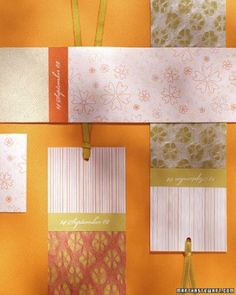 """See the """"Patterned Pastel Bookmarks"""" in our  gallery"""
