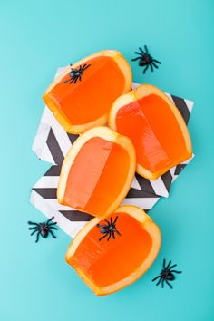 Pumpkin jello shots