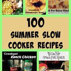 100 Summer Slow Cooker Recipes
