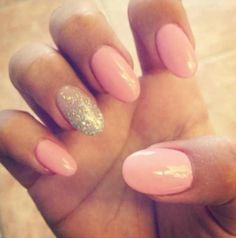 OVAL NAILS!! My new obsession!