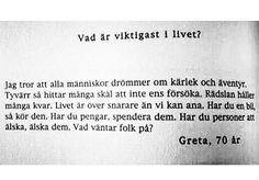 Greta, 70 år.