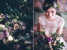 A Temperley Dress for a Flower-Filled and Rustic Italian Wedding. Photography by http://www.leliascarfiotti.com | Love My Dress® UK Wedding Blog