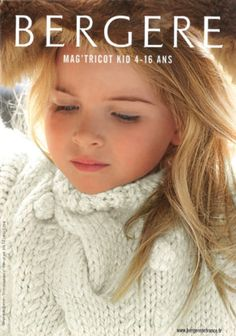 Catalogue en PDF Bergère de France n°158 kid : Matériel Crochet par leucanthemum