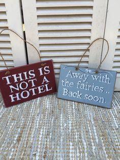 FUN HANDPAINTED SIGNS www.lovinglymadeltd.co.uk