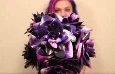 Galaxy flowers great for creative bride  #weddings #diy #bride