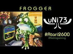 Frogger (1982, Parker Brothers) - Atari 2600 - Score 3273 (Novice)