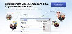SHARE FREE  va ajuta sa transferati , prin intermediul internetului, fara sa fiti limitati de numarul de fisiere sau de marimea lor, catre prieteni/colaboratori a fisierelor pe care doriti Dumneavoastra.