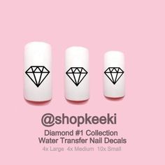 Diamond #1 Nail Decals
