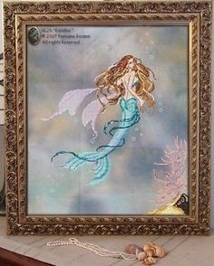 "PASSIONE RICAMO ""GALATEA""  ITALIAN CROSS STITCH PATTERN"