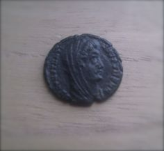 CONSTANTINE I The GREAT 337 AD Heaven Horse CHARIOT Ancient Roman coins Ancient Roman Coins, Ancient Romans, Heaven, Horses, Stone, Sky, Rock, Heavens, Stones