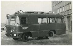 Autobus specjalny San - Zawodowa Straż Pożarna Zakładów Chemicznych w Oświęcimiu