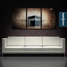 islamic wall art Islamic Wall Decor, Islamic Art, Gentleman Decor, Living Room Designs, Living Room Decor, Home Id, Prayer Room, Creature Comforts, Islamic Calligraphy