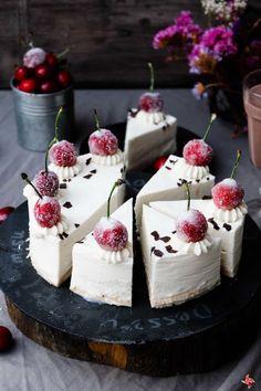 Tarta helada de cumpleaños de coco!!