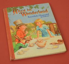 1960 Children's Book Alice in Wonderland by Lewis Carroll, Illustrated A.A. Nash